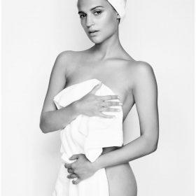 Alicia Vikander topless