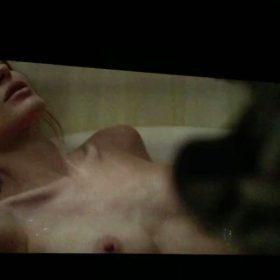 Angelina Jolie nipples exposed