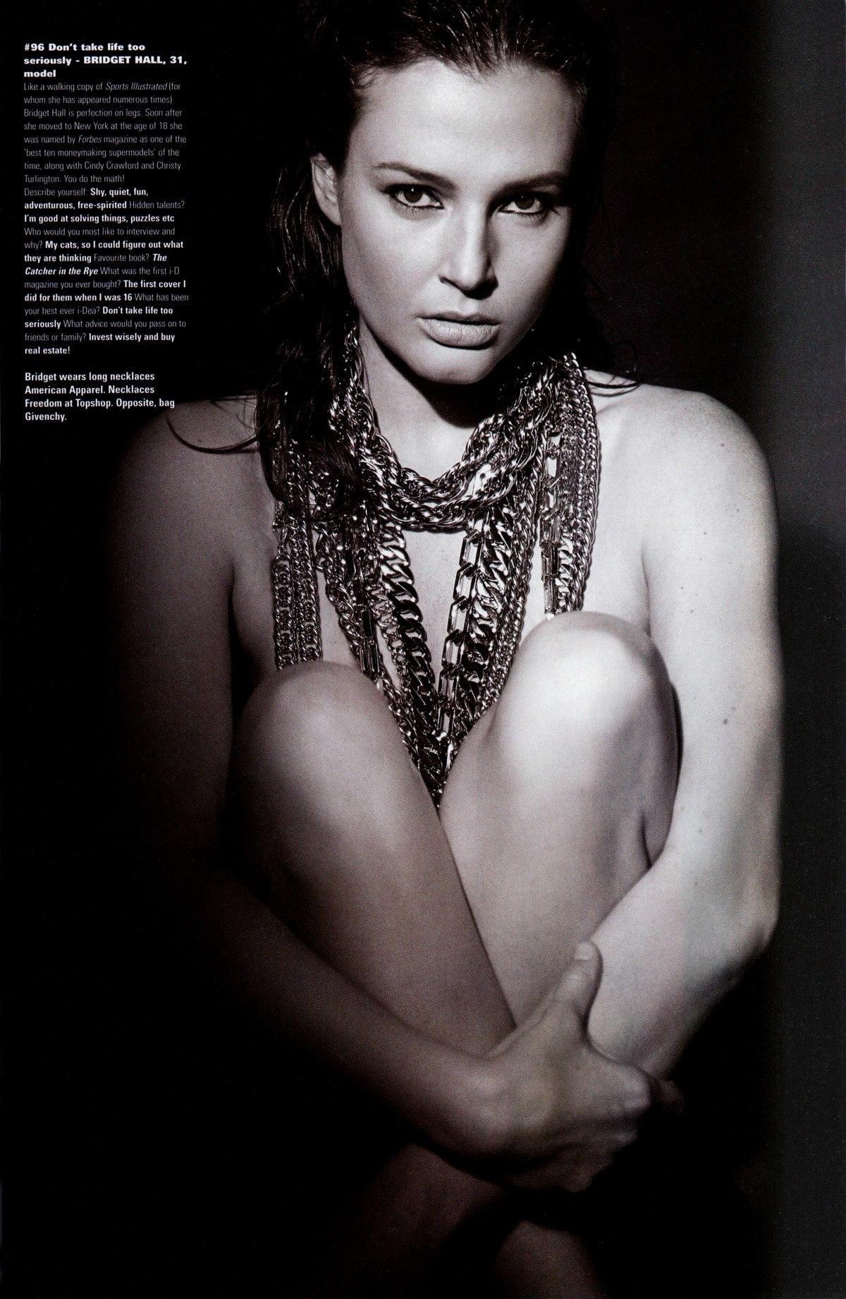 Bridget Hall sexy nude pic
