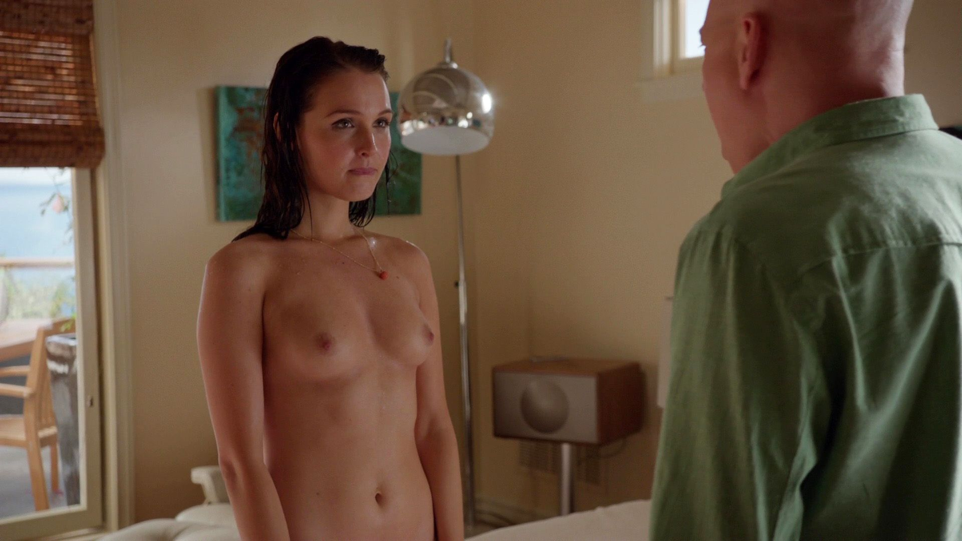 Camilla Luddington topless
