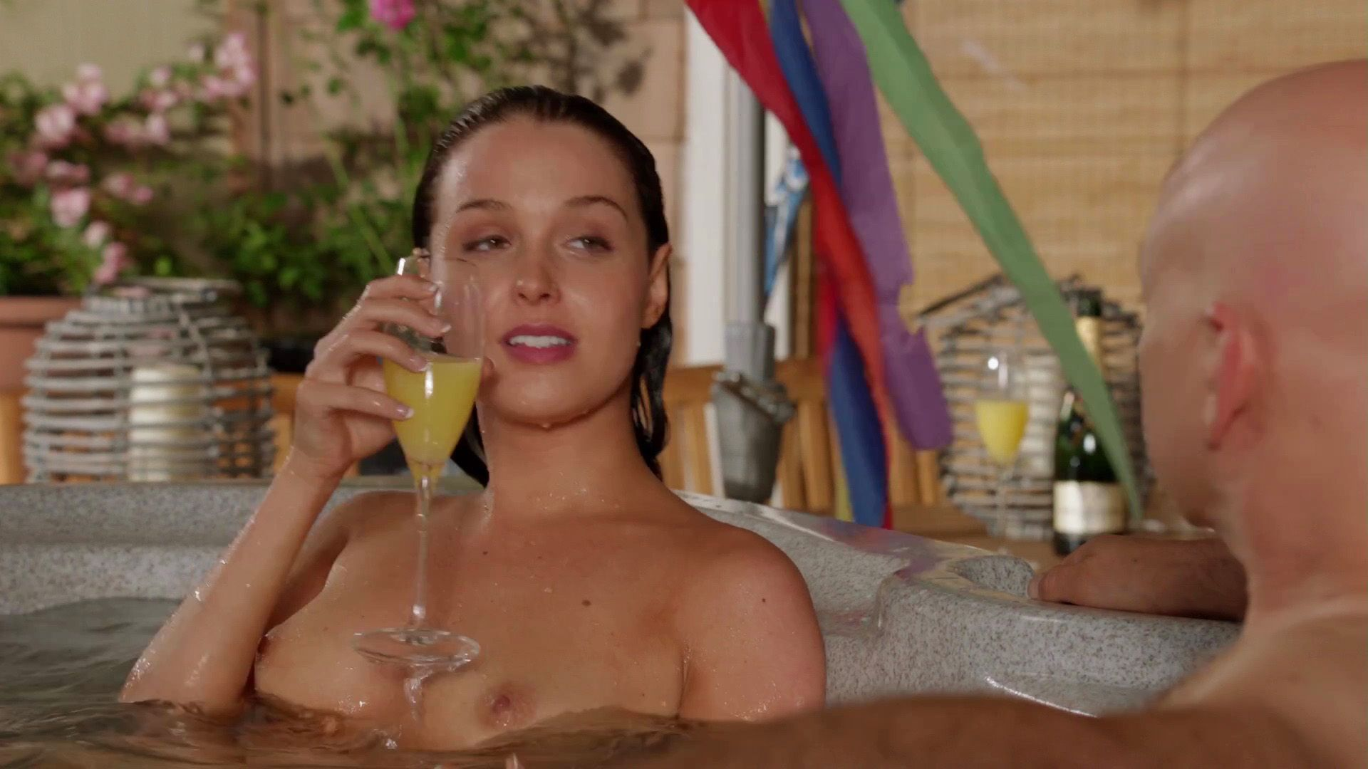 Camilla Luddington naked boobs