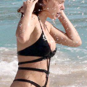 Elena Satine naked boobs