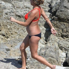 Elisabetta Canalis pussy showing