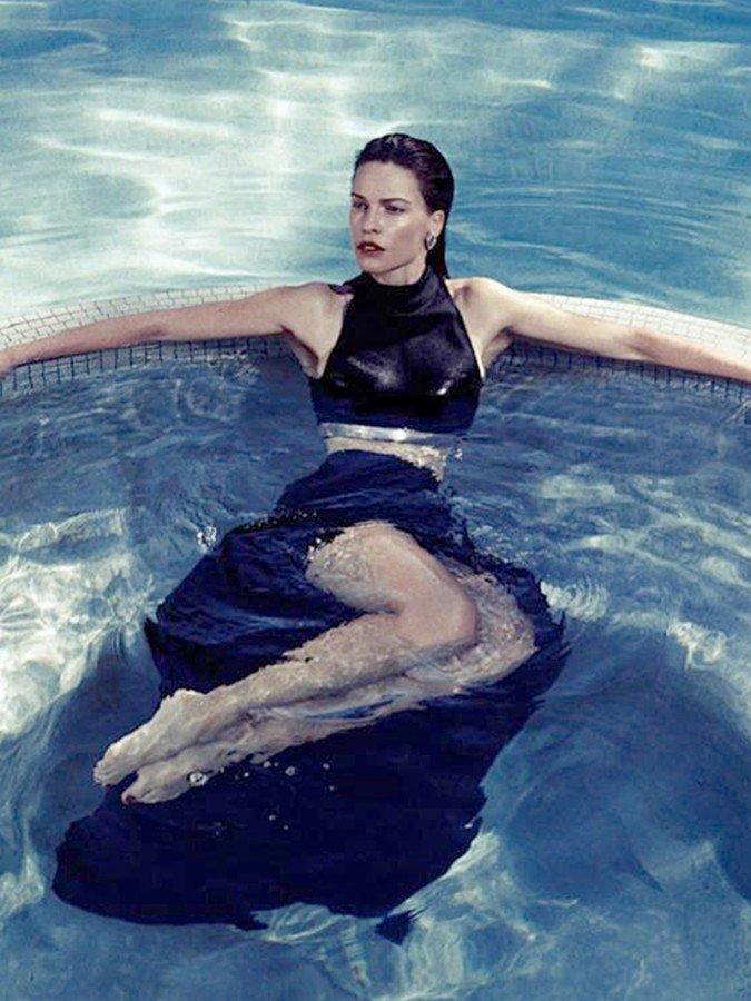 Clip Movie Actress Hilary Swank Naked Leaked Photos -7429