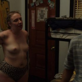 Lena Dunham nude boobs