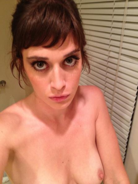 Lizzy Caplan nude boobs