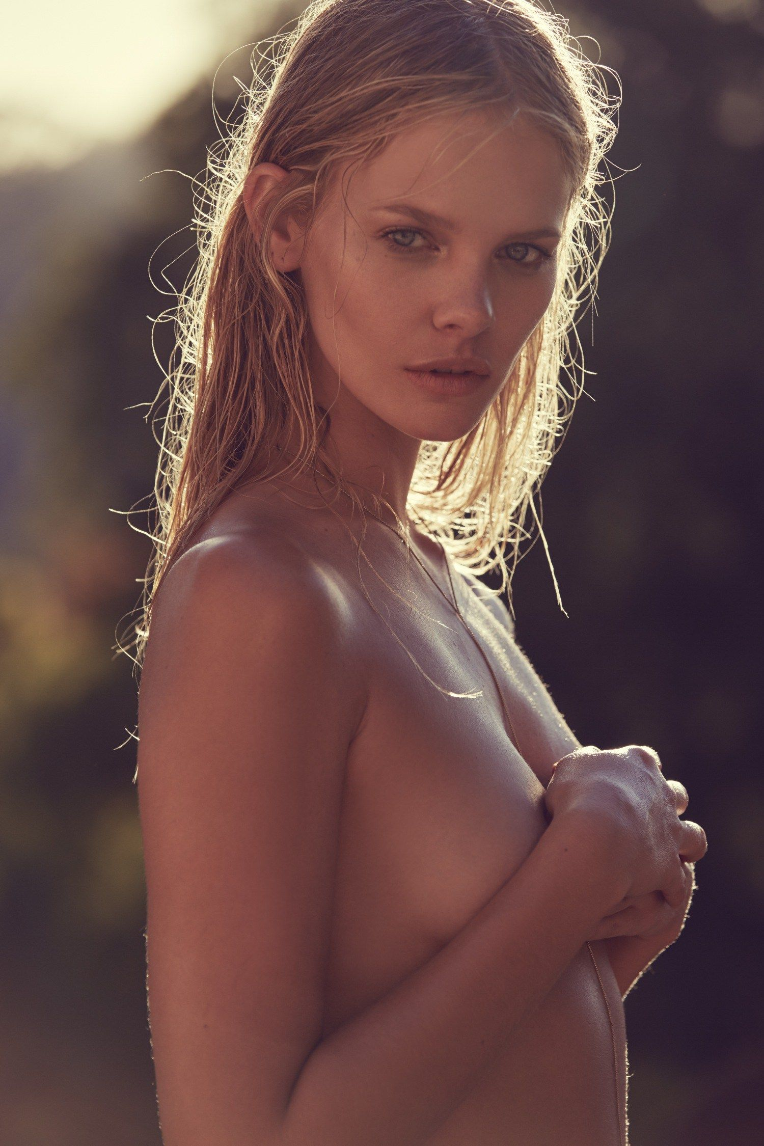 Marloes Horst topless