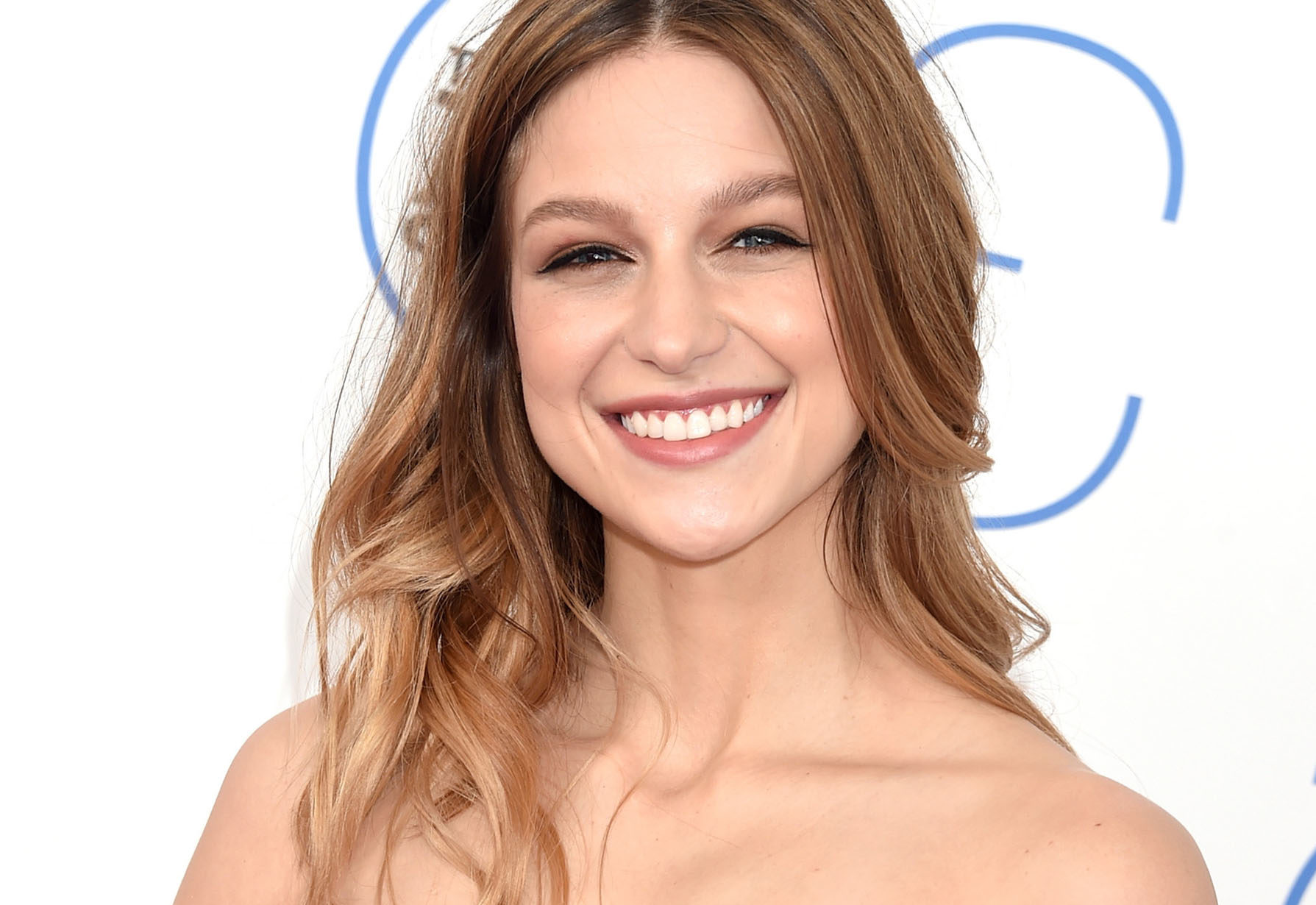 Melissa Benoist smiling about her fappening leak