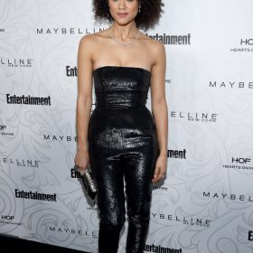 PURR! TV Actress Nathalie Emmanuel Boobs • Fappening Sauce