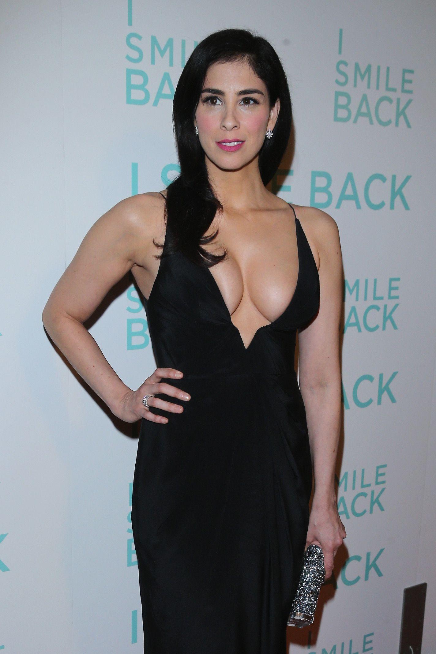 Sarah Silverman Flaunts Her Big Nasty Jew Tits | #
