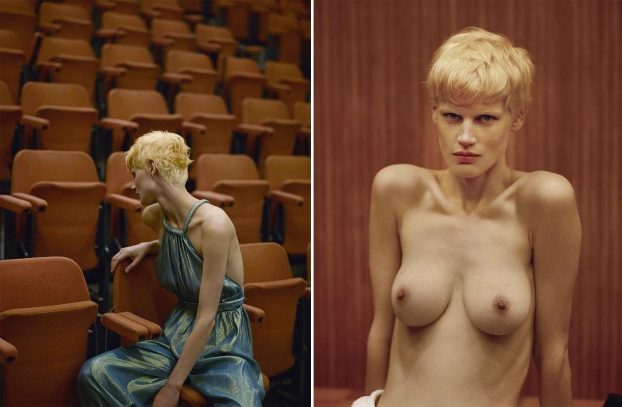 Model nipples exposed