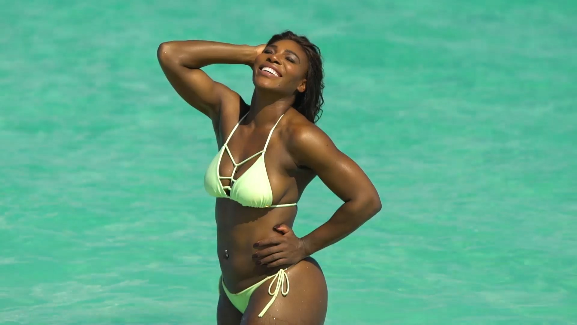 Ding Tennis Player Serena Williams Naked Leaked Photos -3003