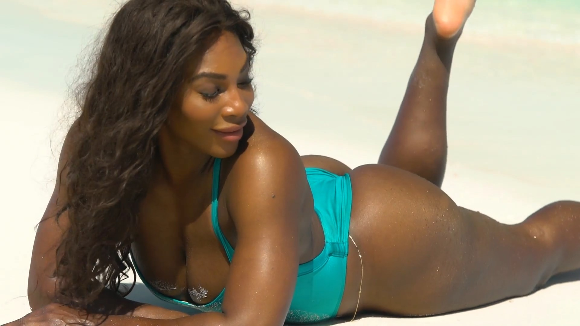Ding Tennis Player Serena Williams Naked Leaked Photos -9512