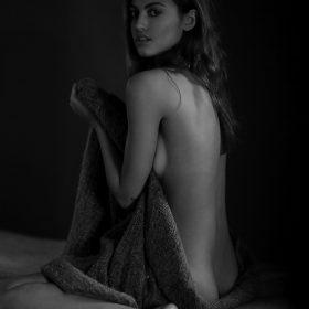 Model tits