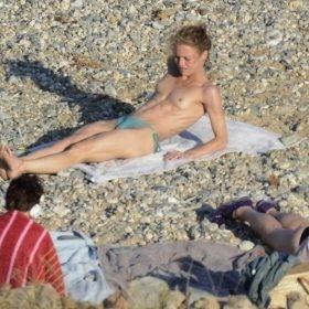 Pop Singer naked