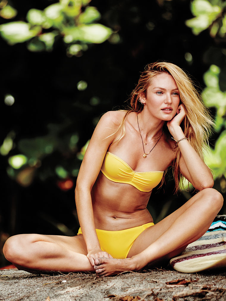 Candice Swanepoel pussy showing
