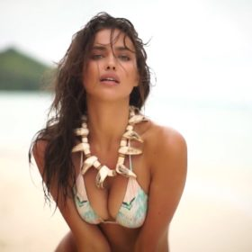 Irina Shayk hot boobs