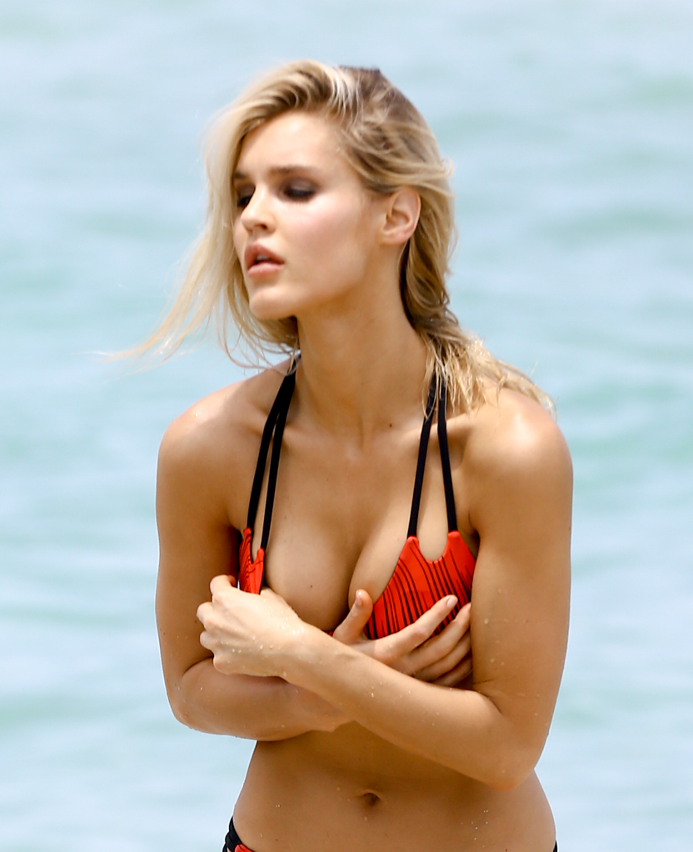 Joy Corrigan hot boobs
