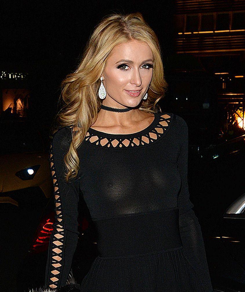 Paris Hilton nude boobs
