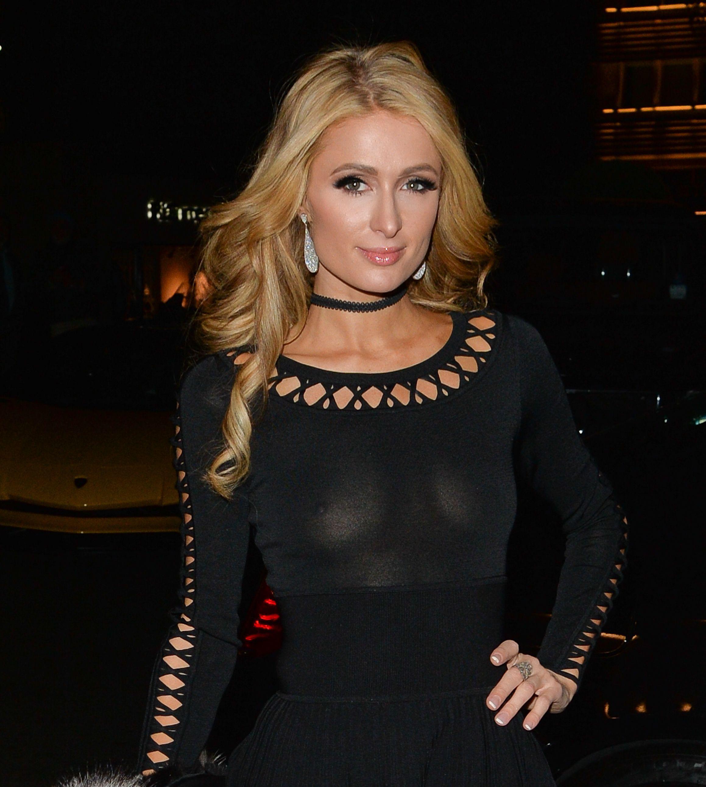 Paris Hilton pussy fucking