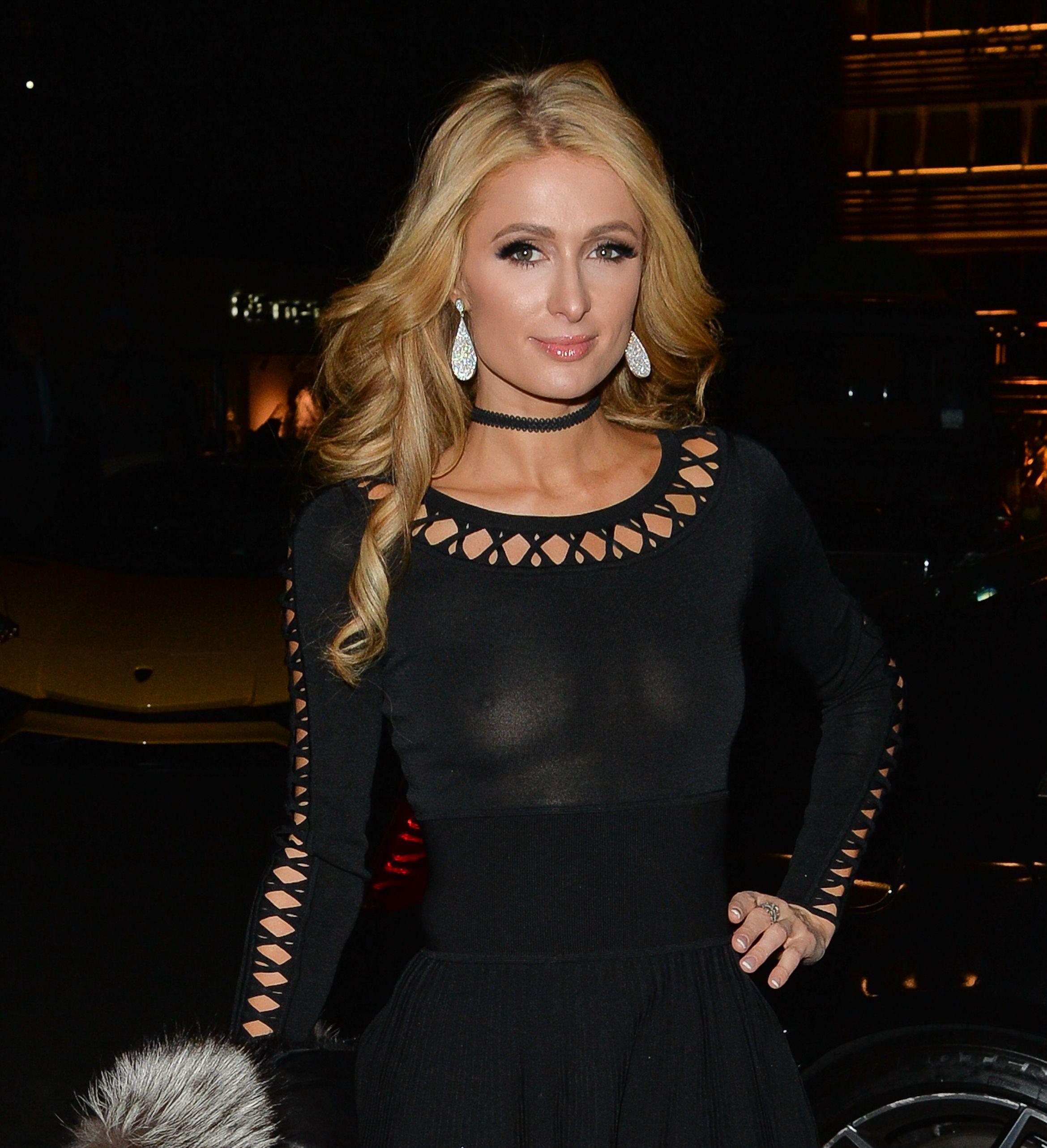 Paris Hilton leaked naked pics