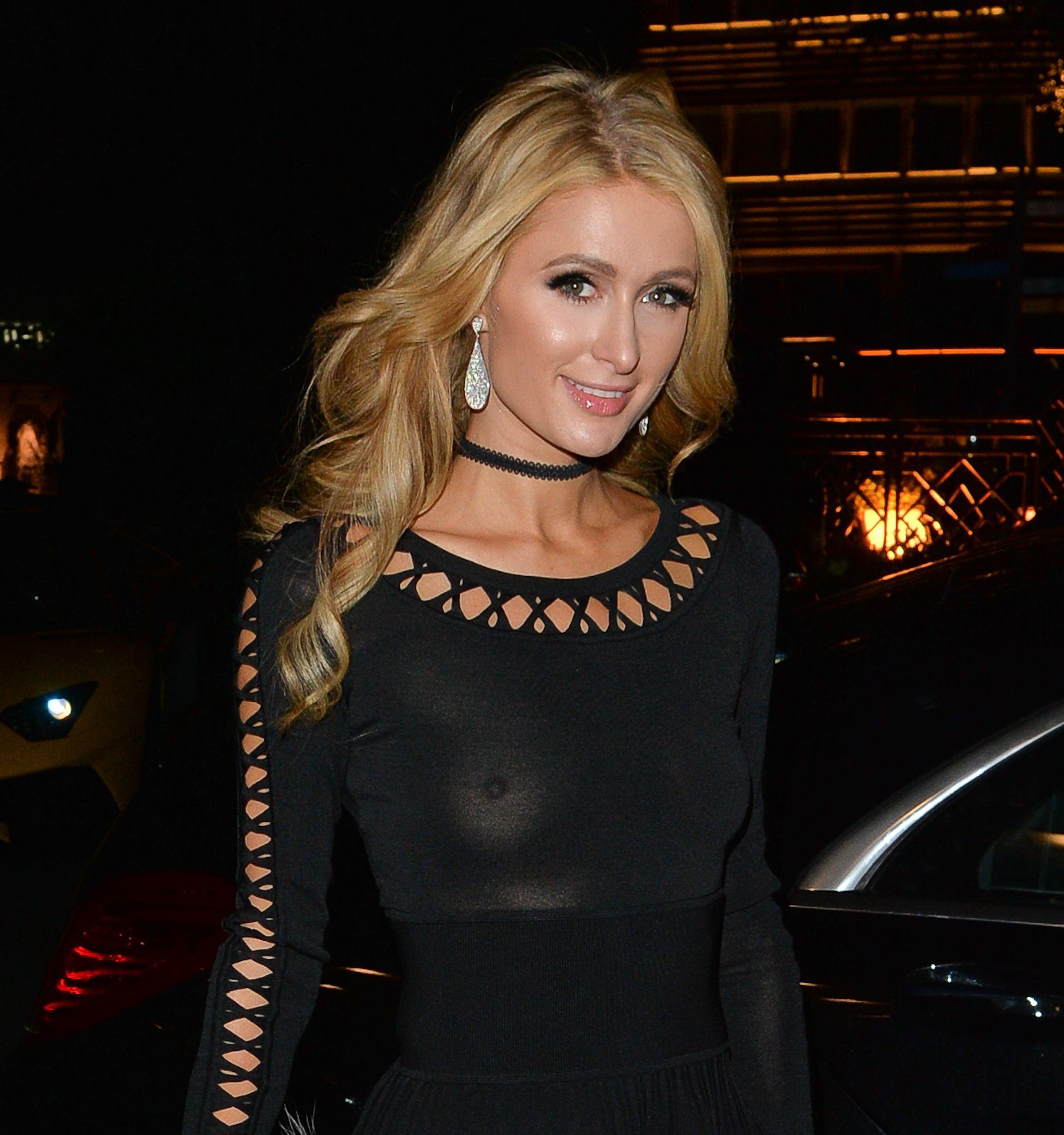 Paris Hilton tits