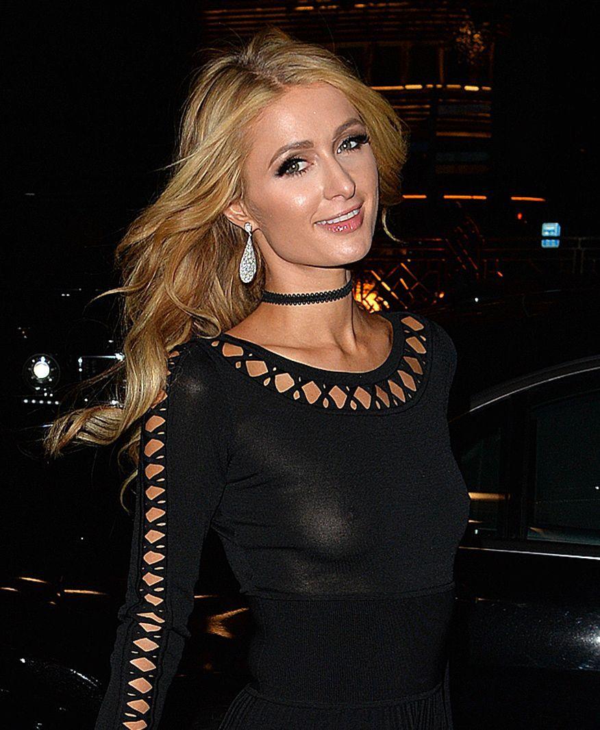Paris Hilton pussy pic