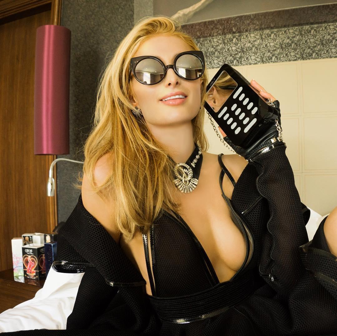 Paris Hilton big boobs