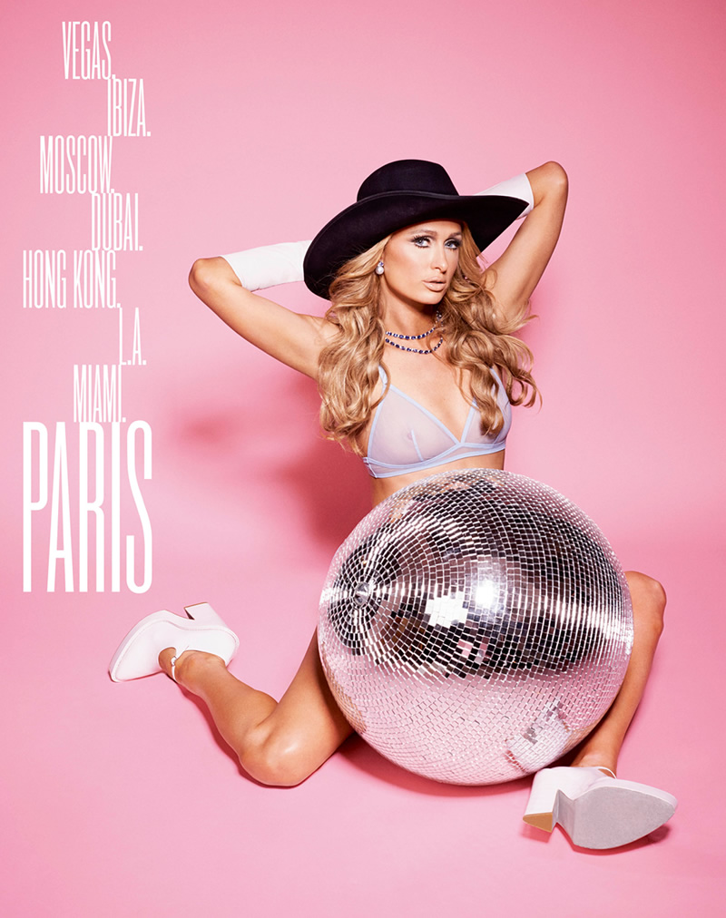 Paris Hilton nipples exposed