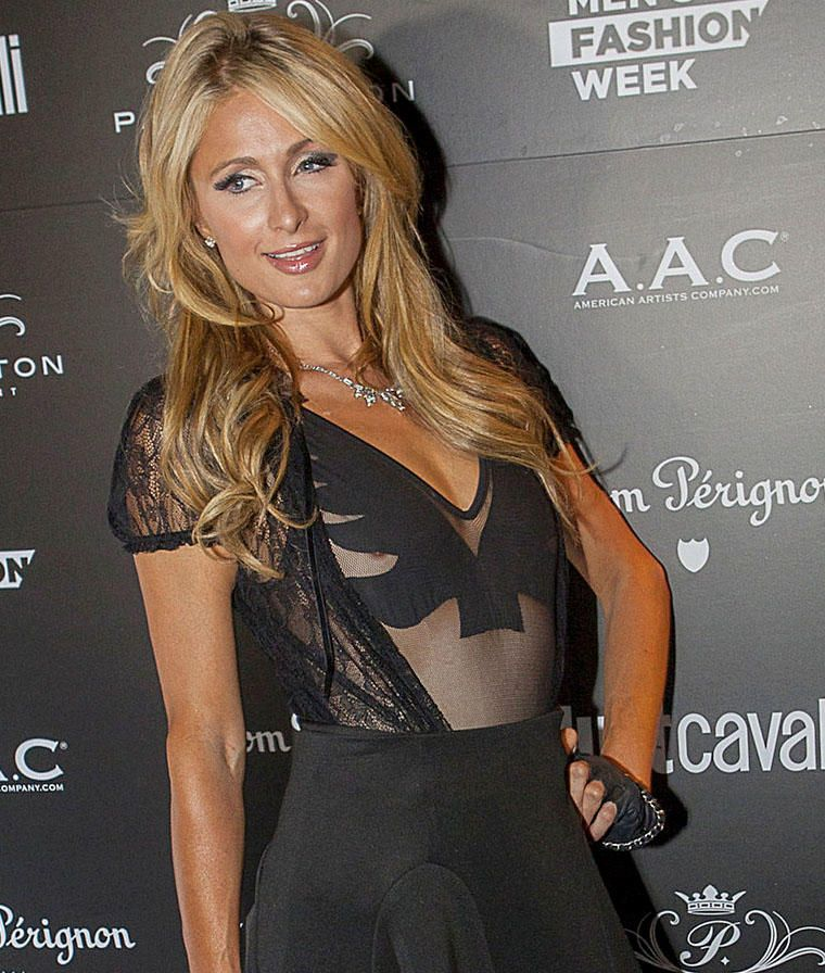 Paris Hilton tits