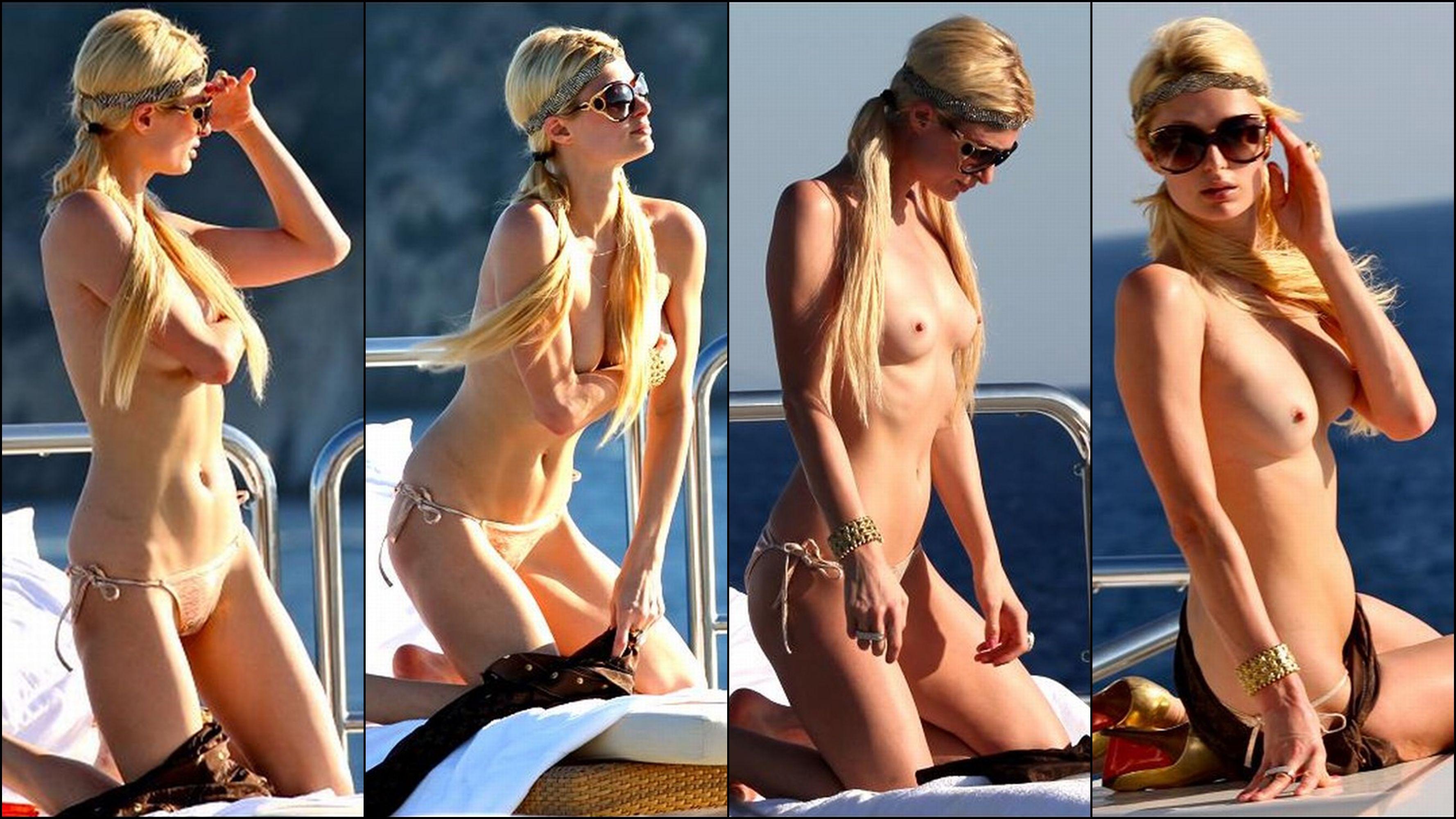 Paris Hilton slip
