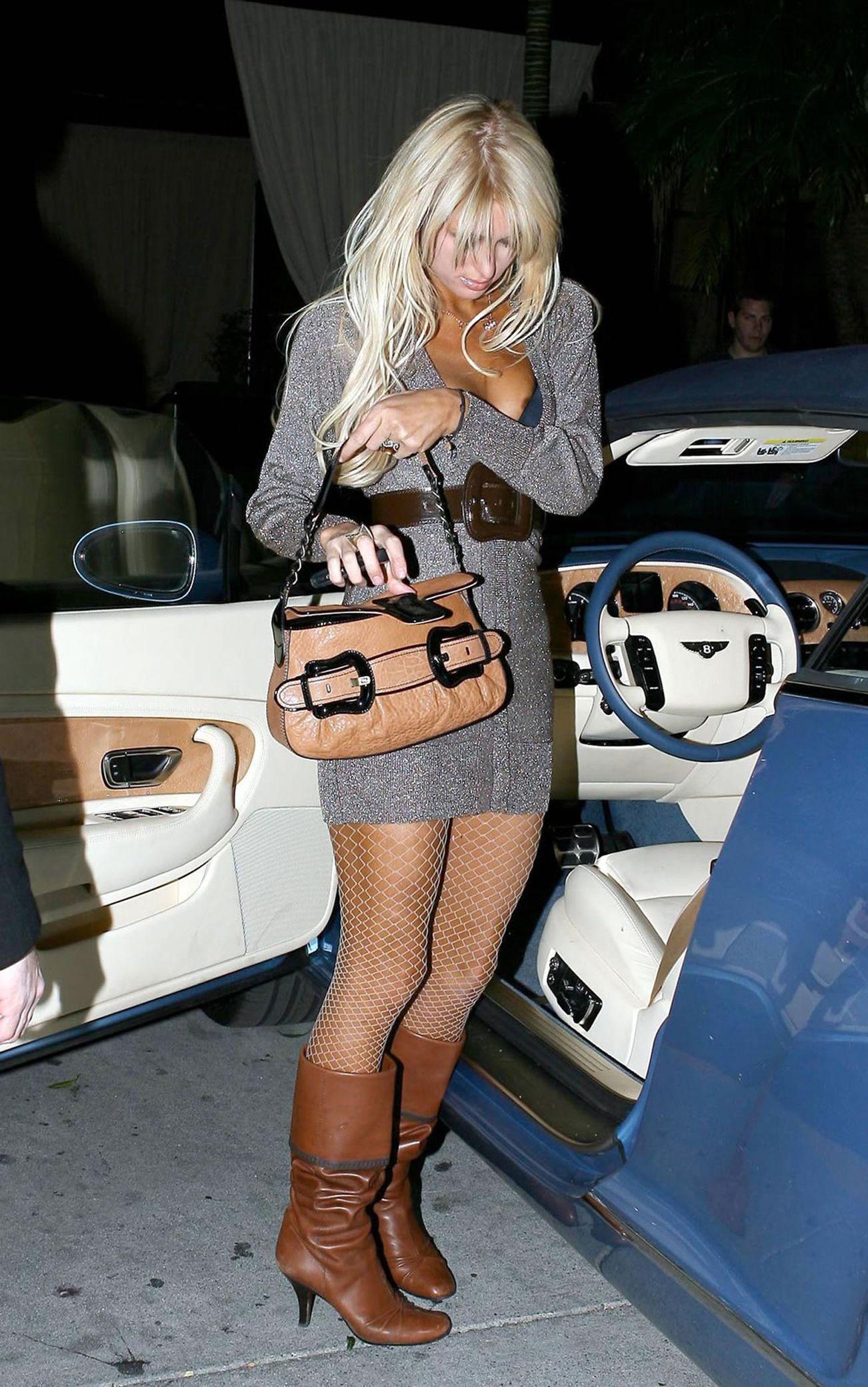 Paris Hilton booty