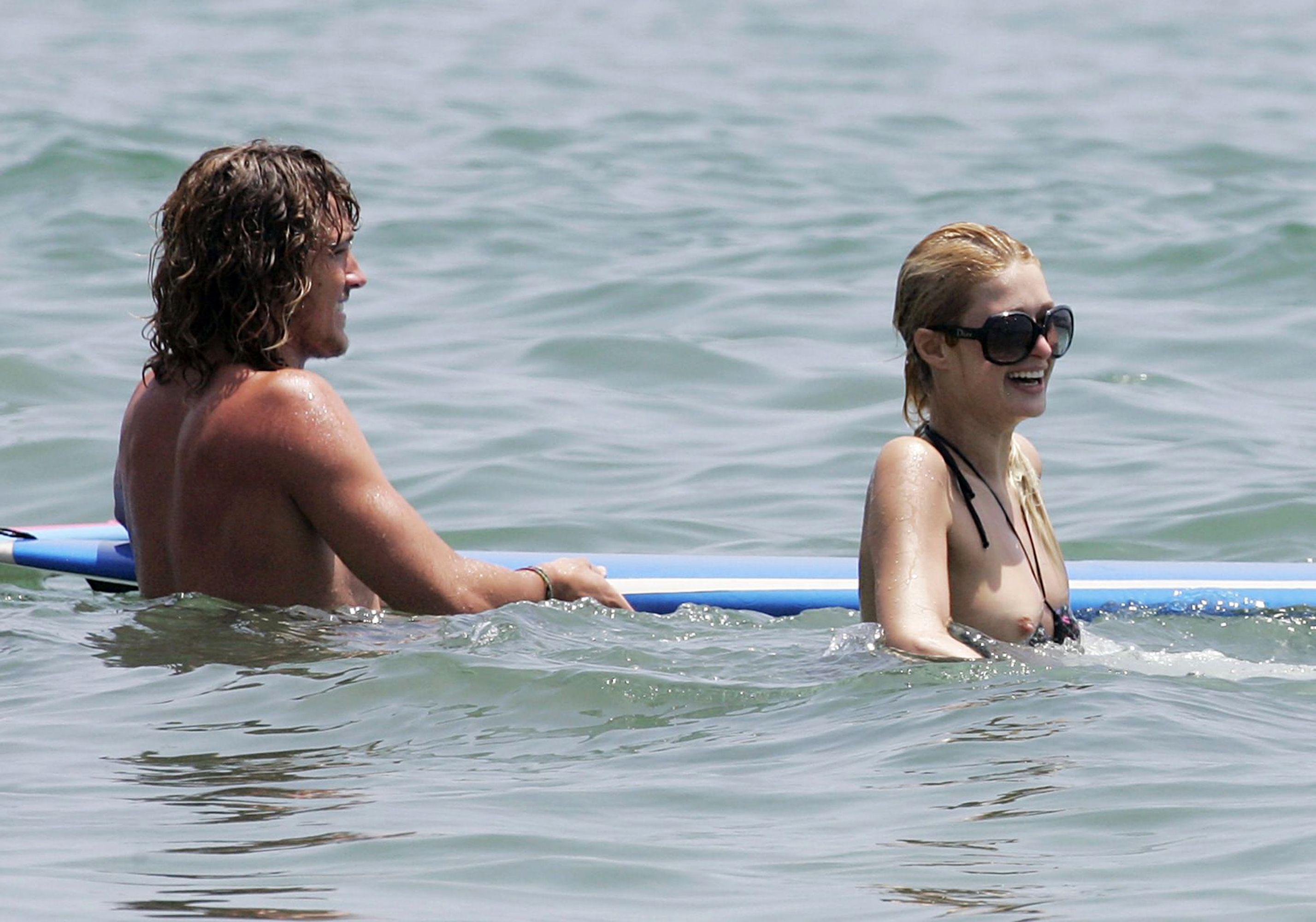 Paris Hilton boobs