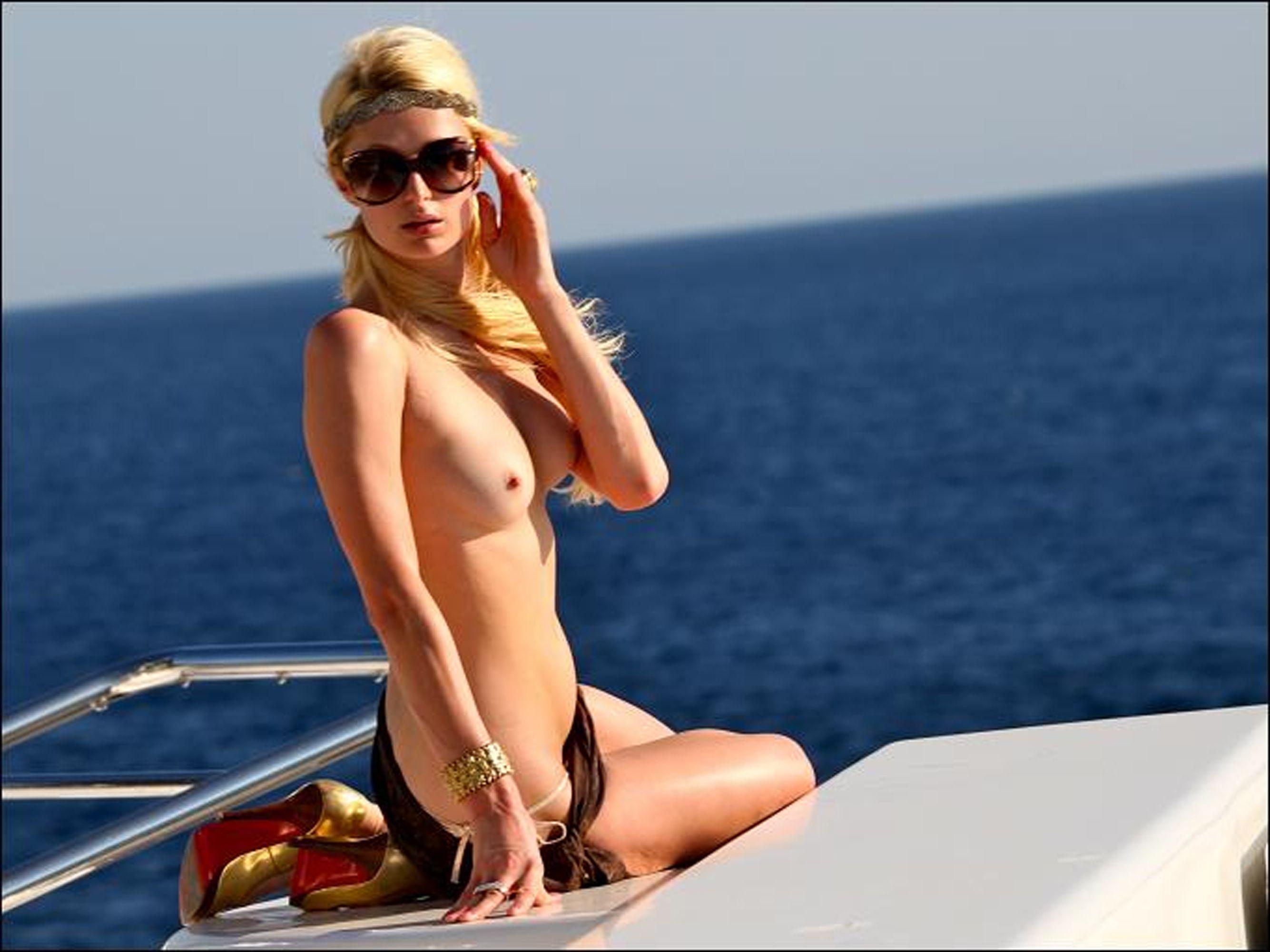Paris Hilton doggystyle
