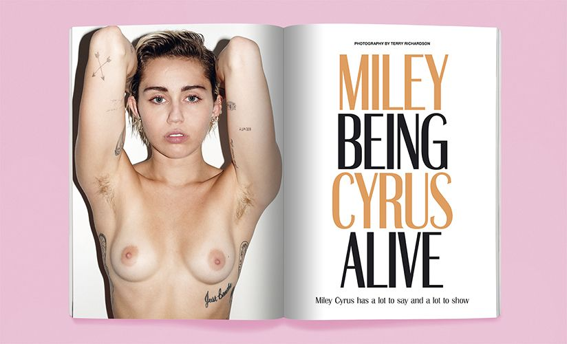 Miley Cyrus nude photos
